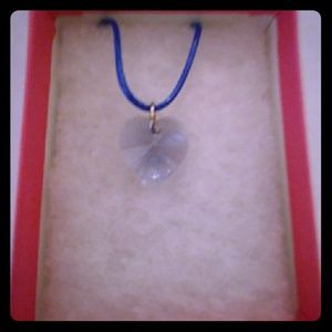 Jewelry - Surprise Violet Crystal Heart Necklace